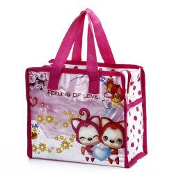 PP non tissé Duffle Bag laminé avec fermeture à glissière, Custom étanche de promotion de gros déménagement durable sac fourre-tout transporteur de vêtements de l'emballage