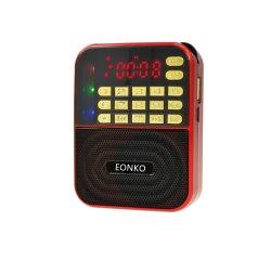 De mini Radio van Bluetooth van de Grootte met Licht Am/FM/TF/USB/Disco