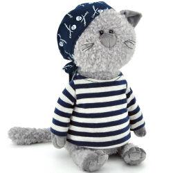 I giocattoli hanno farcito il compagno del giocattolo della peluche il gatto del pirata