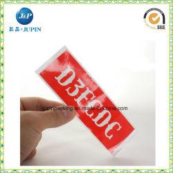 잘 싸게 자동 접착 비닐 스티커 인쇄 (JP-S108)