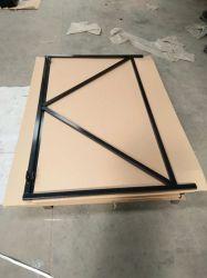 Ondergedompeld Gegalvaniseerd of de pvc Met een laag bedekte heet Frames van de Deur van het Metaal
