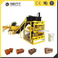 Qt 4-10 brique En argile Brice Appuyez sur les blocs de la machine de séchage des machines