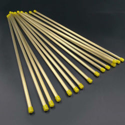 Tubo eléctrico la aplicación de electrodos de EDM EDM/tubo de latón de tubo de cobre de electrodos