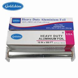 Commerce de gros Type de rouleau de papier d'aluminium de ménage en aluminium