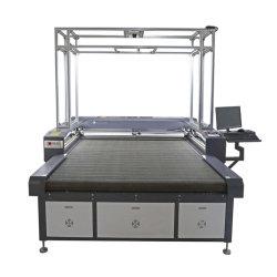 Doppelte Haupt-CO2 Laser-Ausschnitt-Maschine für Digital-Drucken-Industrie