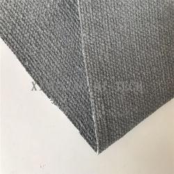 Isolation haute température tissu de fibres de céramique avec enduit de silicone