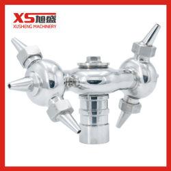 SS304 санитарных Ox Тип внутренней резьбой на 360 градусов шаровой шарнир для очистки опрыскивателя