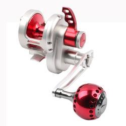 Teno Ha20 Bateau d'eau salée en métal du gros gibier la turlutte CNC à la traîne de la pêche 9+2bb CNC du rabatteur