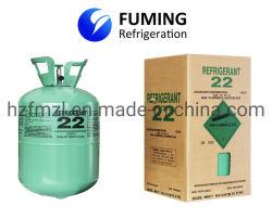 El gas refrigerante R134A Cilindro desechable 30lb/13,6kg.