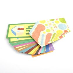 Hoge kwaliteit populaire nieuwe stijl, Standaard Alphabet Printing Services van Flash Card