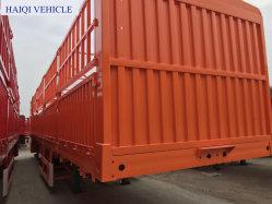 13м 3 моста грузовых перевозок Полуприцепе для тяжелых условий эксплуатации погрузчика с 12ПК поверните замки
