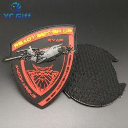 カスタマイズされた国の軍隊の戦術的なギヤの記念物パッチの方法熱移動の衣類ラベルロゴが付いている装飾的なウーブンのラベル( PT03 )