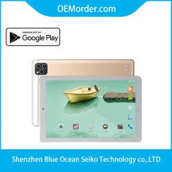 """10"""" 4G LTE 전화 태블릿, GPS BT 3GB 이상 64GB 태블릿 10인치 Android Kids Learning Education 태블릿"""