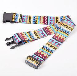 スポット手荷物預け入れ済みシートベルト卸売税関ロックラゲッジベルトパッキングバンドル(荷物用ストラップ付き)はカスタマイズできます