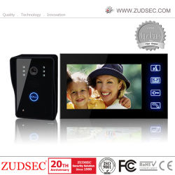 4-Draads Superslank 7-Inch Video Intercom-Systeem