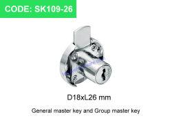 Computer-Verschluss-Hauptschlüssel-Verschluss-Möbel-Verschluss Sk109-26