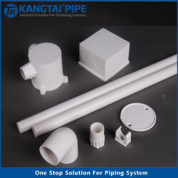 Electricidad aislado de las conexiones eléctricas de PVC DN16-DN63mm