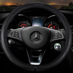 卸し売り自動車の付属品車の装飾ユニバーサル滑り止めPU/PVC/Leatherの車は自動車部品のためのハンドルカバーを分ける