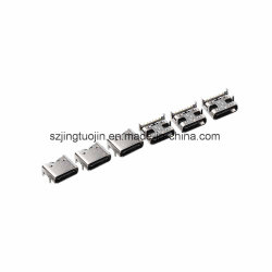 DIP 4 broches+6PIN Short-Type CMS 3.1 USB Connecteur de type C