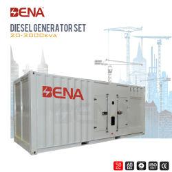 500kVA-600kVA 50Hz conteneur silencieux résistant aux intempéries Générateur Diesel Moteur Cummins