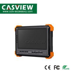 """Comprobador CCTV Cámara Ahd Monitor con pantalla LCD de 7"""", Cvi 2MP, Ahd/Tvi 5MP Comprobador CCTV Entradas VGA y HDMI 12VDC 2un monitor de vídeo de salida 4 en 1"""