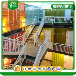 中国メーカーの建設ラグジュアリープレハブ式モダンコンテナユニットモジュラーホテル