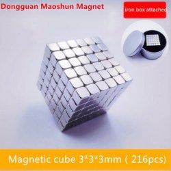 Bille de Buck Square Cube Magique Jouet de puzzle de réduction de pression de 4 mm