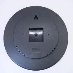 مكونات ساعة الحائط الغطاء الخلفي المعدني حركة الساعة 12 بوصة الحالة