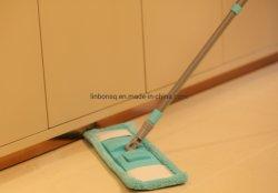 Limpeza de plástico Super Microfibra doméstica Easy Mop para chão com Ferramenta de limpeza com pega extensível de 1,2 m.