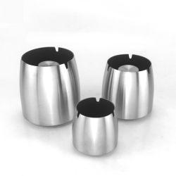 201ステンレス鋼の灰皿の防風の高まる灰皿