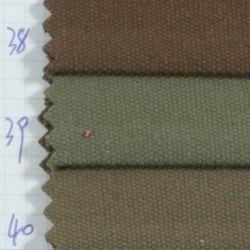 Moda têxtil Stock 100 Planície de algodão tingidos de tecido de lona novo design para a peça de vestuário de tecido e sofá Fabric