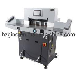 taglierina di carta di programma di 720mm di controllo della ghigliottina idraulica resistente della pila