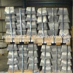 Les lingots de métal Silver-White Sb Antimoine