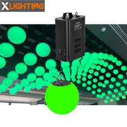 Luz LED de energía cinética de Control DMX Cable cabrestante escultura cinética luz