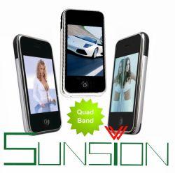 Double carte SIM de 8 Go, téléphone portable quadribande Touch FLO (I68+/I9)