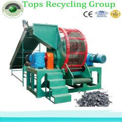 De duurzame Dubbele Ontvezelmachine van de Band van het Afval van Schachten