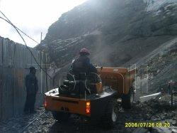La más alta calidad china famosa marca Topall sitio hidráulico Dumper