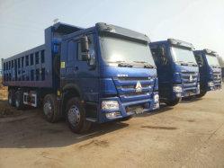 중고차 시노트럭에는 336HP 371HP 375HP HOWO 10 휠이 사용되었습니다 12 Tires Dump Truck Tipper Truck 8X4 6X4 Good 아프리카 지역
