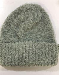 بيع بالجملة حبك [بني] غطاء عادة أكريليكيّ [بني] قبّعة شتاء يحبك قبّعة