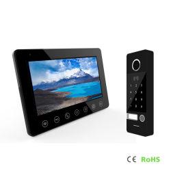 La memoria de alta definición la contraseña del sistema de intercomunicación desbloquear video interfono Doorphone