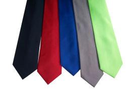 人の100%年の編まれた絹製ネクタイ