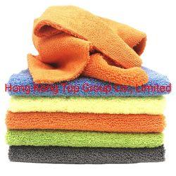 Diferentes tipos Quliality Toalla de microfibra de alta, Larga Toalla de microfibra de pelo corto de limpieza de coches