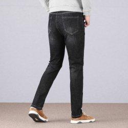 De in het groot Hete Van de Bedrijfs verkoop Klassieke Toevallige Katoenen van Mensen Jeans van het Denim