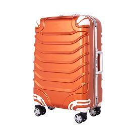 100%PC los viajes de equipaje, maletas Trolley de aluminio (SH390)