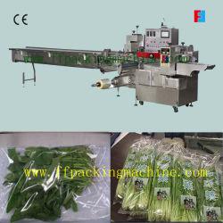 Verpakkende Machine van de Stroom van de Groente van het blad de Horizontale (FFC)