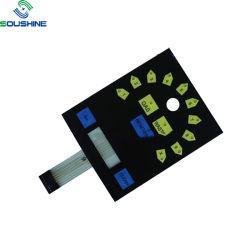 OEM Custom haute difficile de l'impression 12DC Interrupteur à membrane pour les jouets