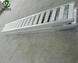 As rampas de alumínio resistente para máquina de esteiras de borracha