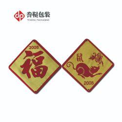 Китайского Зодиака подписать с вышитым патч смешные вышивка исправления для украшения одежды моды аксессуары для детской ткани