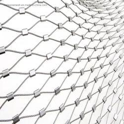 SS 304 handgewebtes Gebäude Kabel Seil Mesh / Tier Produkte von Zaun