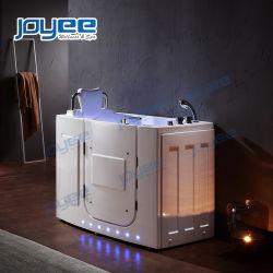 Joyee Гидромассаж безопасности ванна в ванной душем ванной с душем для пожилых людей